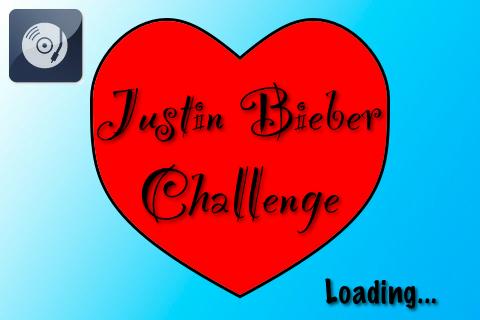 Screenshot Justin Bieber Challenge