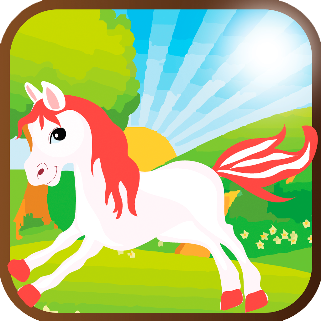 Cute Little Pony Run Game Pro - Funny and addictive adventure of baby horse for Kids